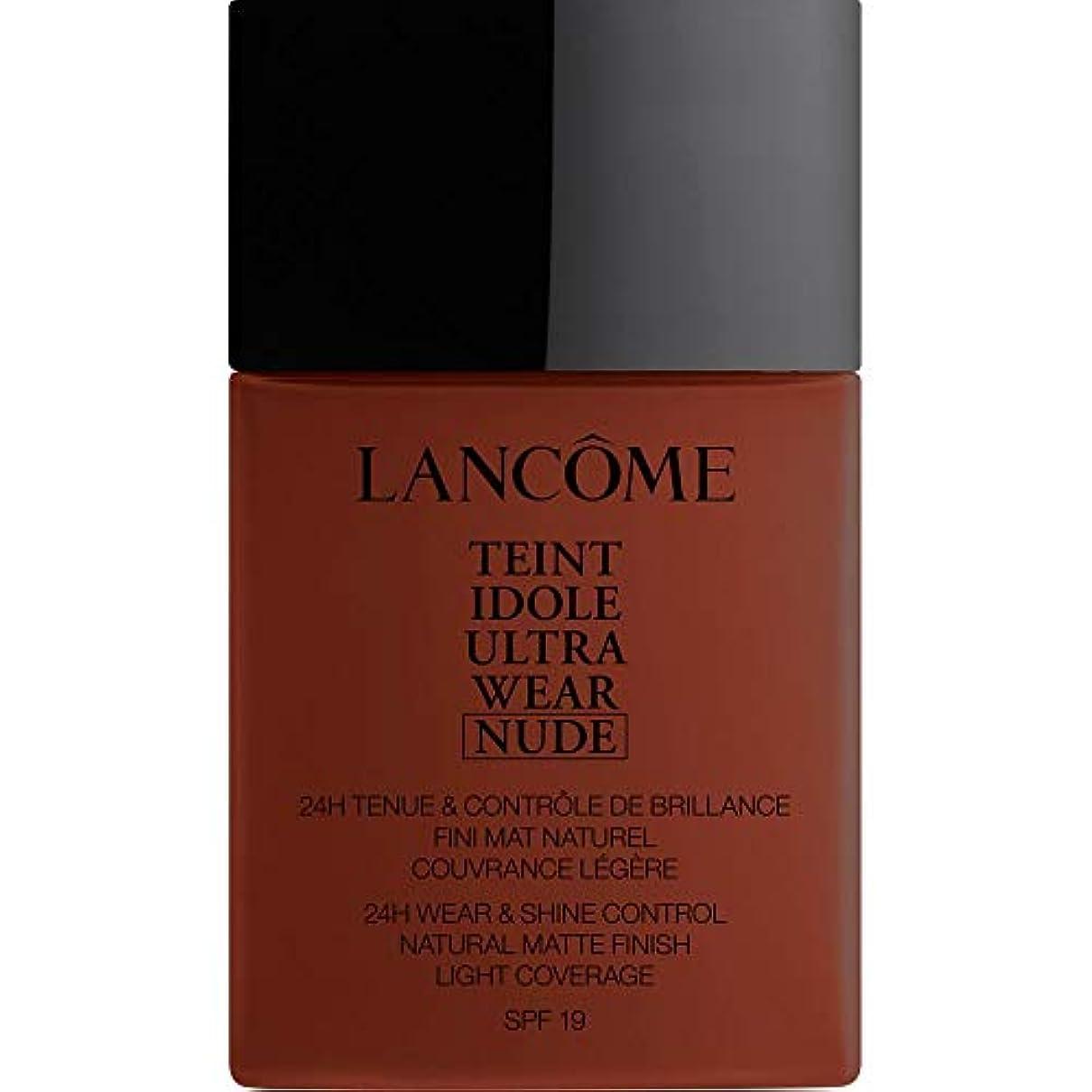 うまくやる()記憶バイソン[Lanc?me ] ランコムTeintのIdole超摩耗ヌード財団Spf19の40ミリリットル16 - カフェ - Lancome Teint Idole Ultra Wear Nude Foundation SPF19...