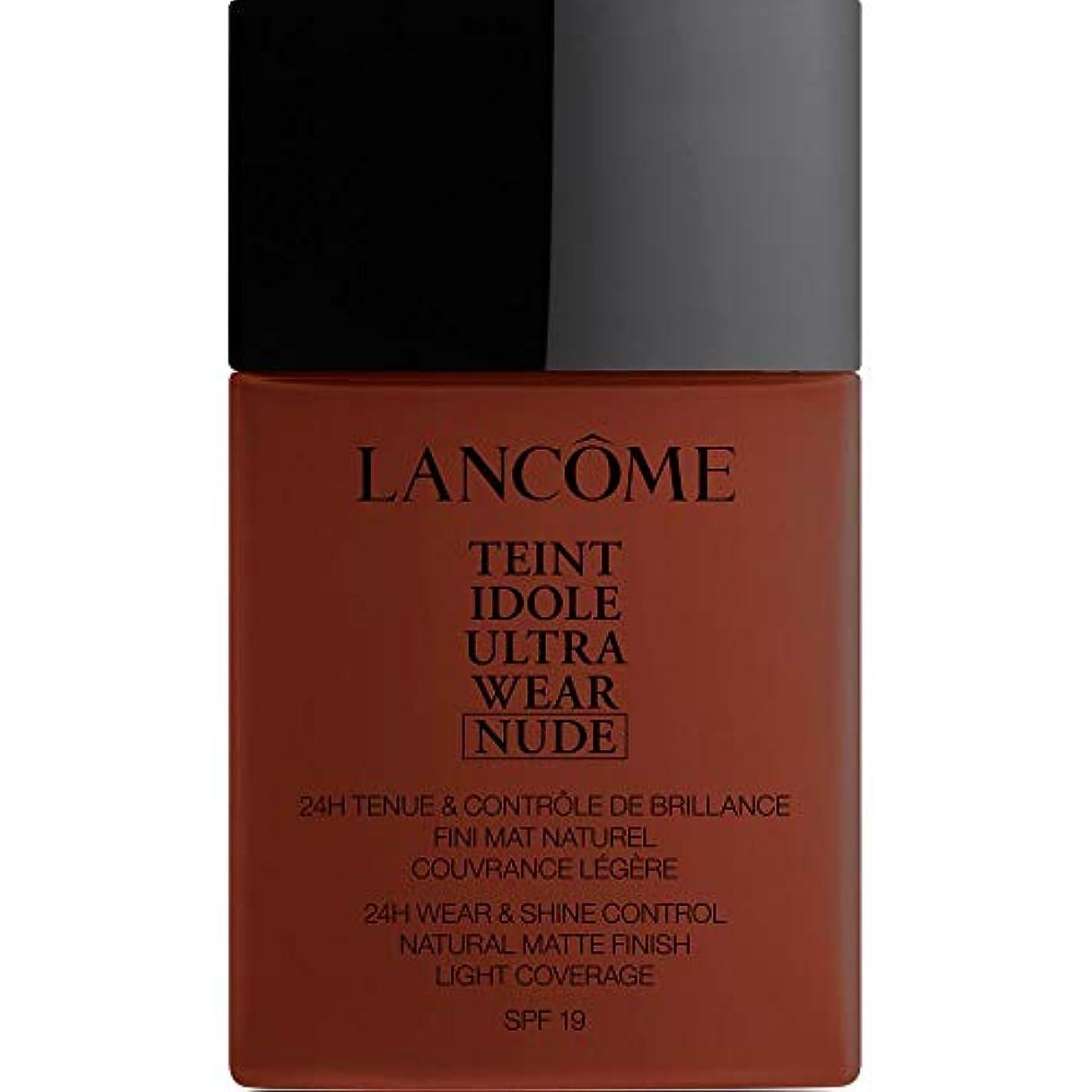 侵略ピンチペチュランス[Lanc?me ] ランコムTeintのIdole超摩耗ヌード財団Spf19の40ミリリットル16 - カフェ - Lancome Teint Idole Ultra Wear Nude Foundation SPF19...