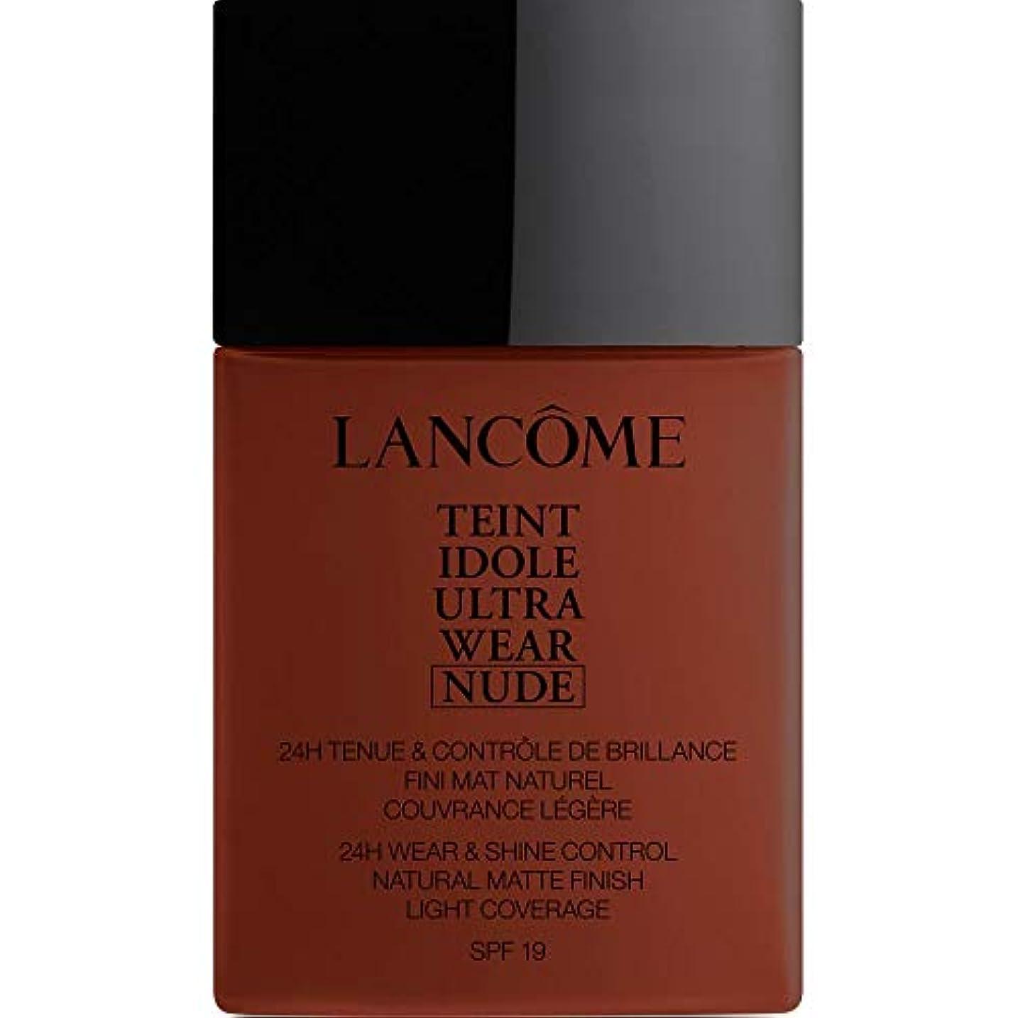 放つ予想する証明[Lanc?me ] ランコムTeintのIdole超摩耗ヌード財団Spf19の40ミリリットル16 - カフェ - Lancome Teint Idole Ultra Wear Nude Foundation SPF19...