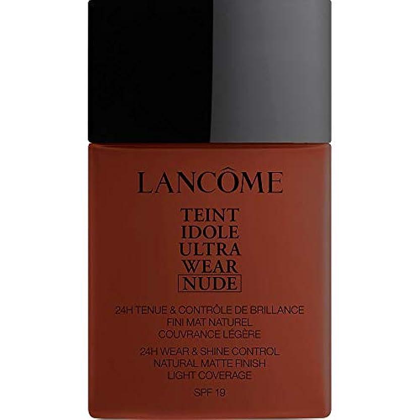 サイトタクトフェンス[Lanc?me ] ランコムTeintのIdole超摩耗ヌード財団Spf19の40ミリリットル16 - カフェ - Lancome Teint Idole Ultra Wear Nude Foundation SPF19...