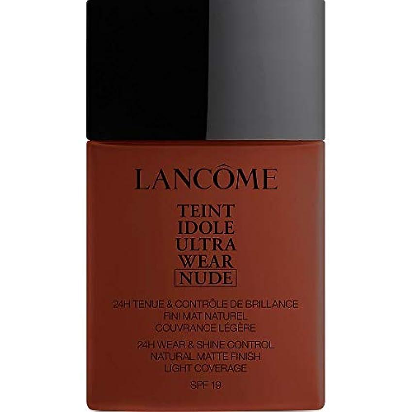 鳩それから含意[Lanc?me ] ランコムTeintのIdole超摩耗ヌード財団Spf19の40ミリリットル16 - カフェ - Lancome Teint Idole Ultra Wear Nude Foundation SPF19...