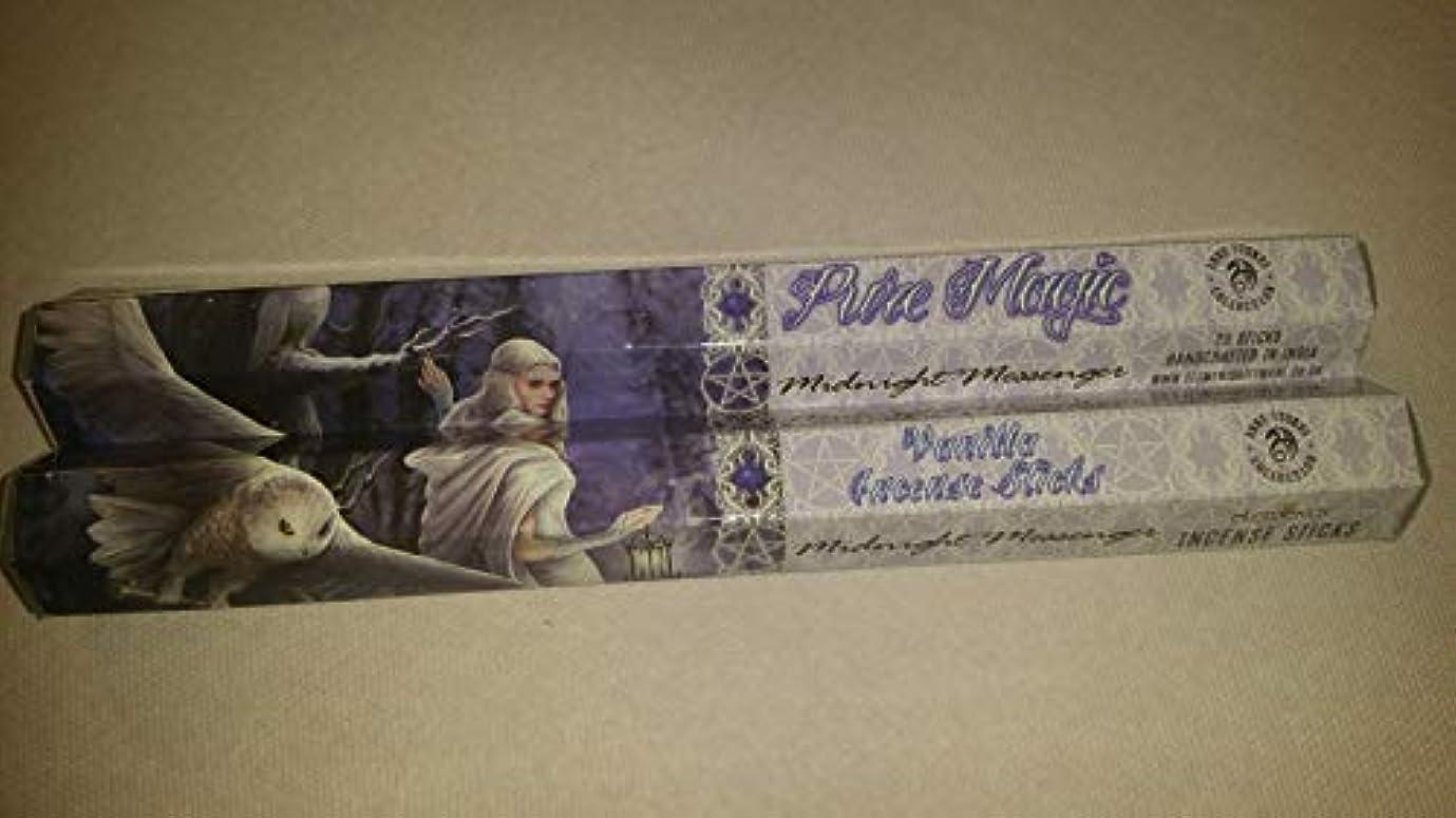 マットレスどこにでも優しいPack Of 6 Midnight Messenger Incense Sticks By Anne Stokes