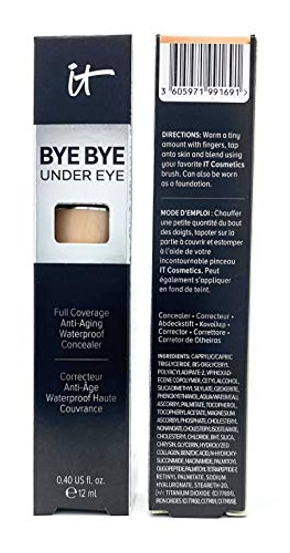 かどうかディスパッチ共産主義IT COSMETICS Bye Bye Under Eye Full Coverage Anti-Aging Waterproof Concealer (14.5 Light Buff)
