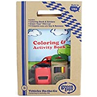 Green Toys Vehicles Coloring & Activity Kit [並行輸入品]