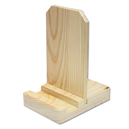 静岡木工 札立て ちとせ 白木 68×91×122mm