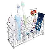 Gelrova 歯ブラシスタンド 置き型 電動歯ブラシ置き 304ステンレス製 防錆  洗面所 収納