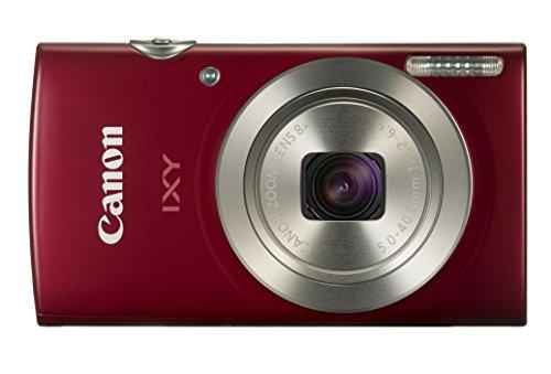 Canon デジタルカメラ IXY 180 レッド 光学8倍ズーム IXY180RE