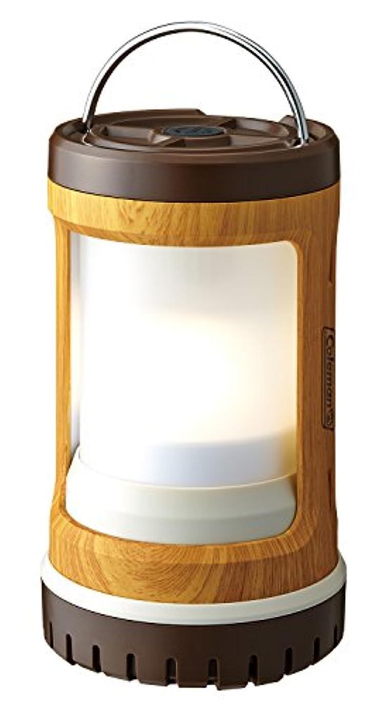 桃時間厳守こねるColeman(コールマン) ライト バッテリーロックコンパクトランタン ナチュラルウッド 2000031273