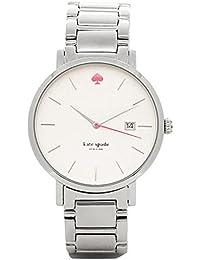 [ケイトスペード] 腕時計 レディース KATE SPADE 1YRU0008 シルバー [並行輸入品]
