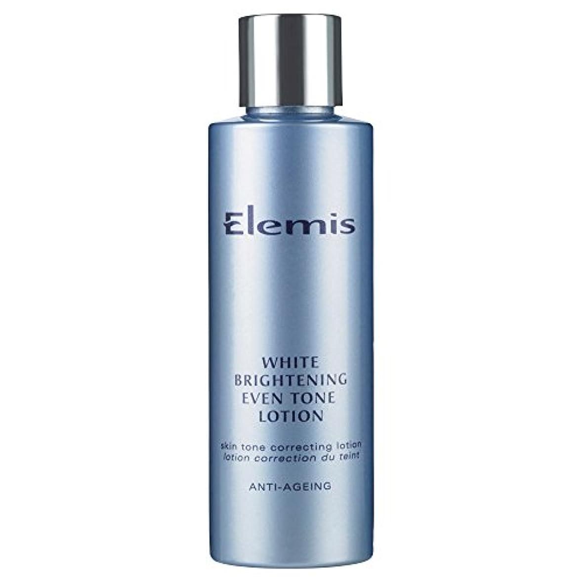 血統意図目覚めるエレミス白い光沢さえトーンローション150ミリリットル (Elemis) - Elemis White Brightening Even Tone Lotion 150ml [並行輸入品]