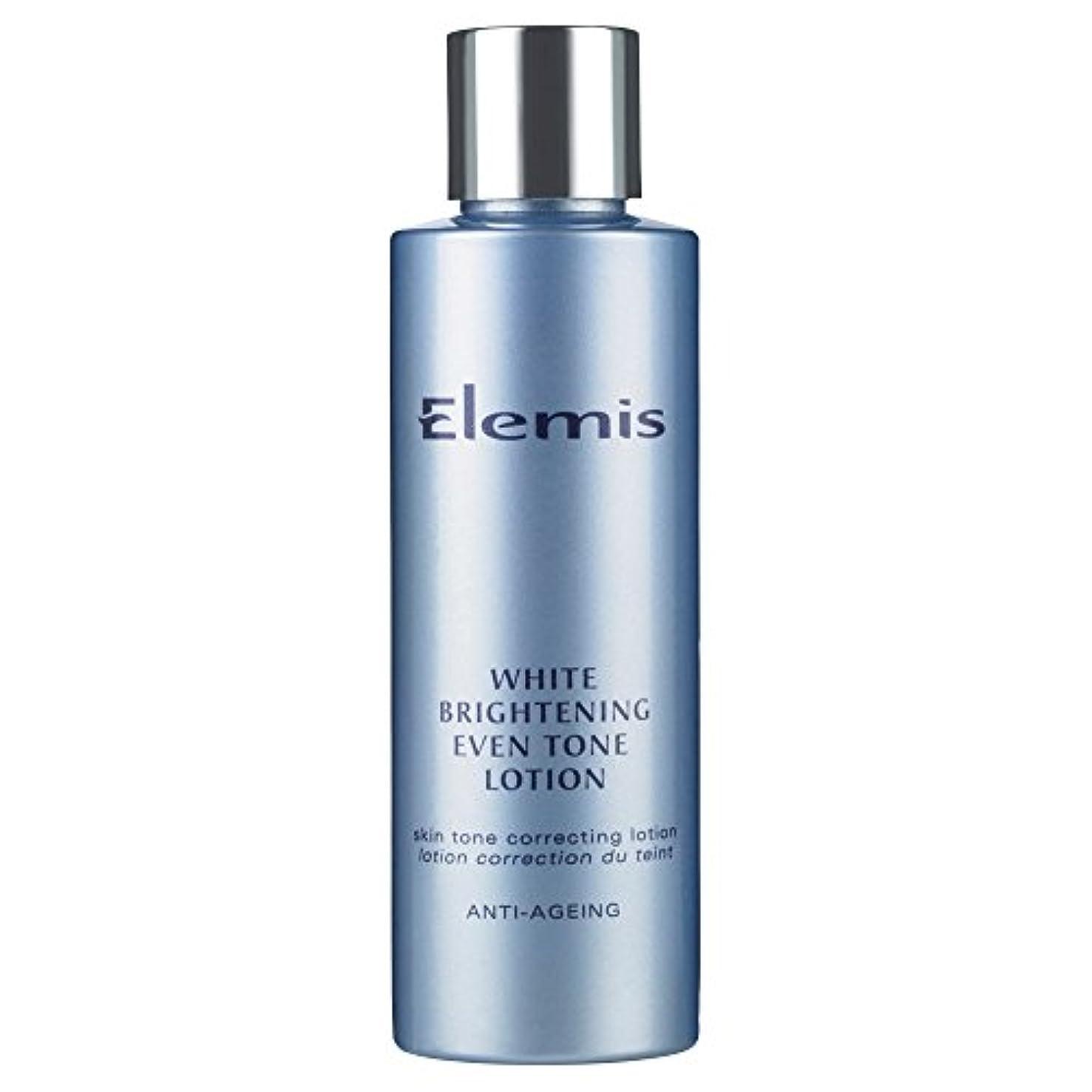 血まみれのタンクバケットエレミス白い光沢さえトーンローション150ミリリットル (Elemis) - Elemis White Brightening Even Tone Lotion 150ml [並行輸入品]