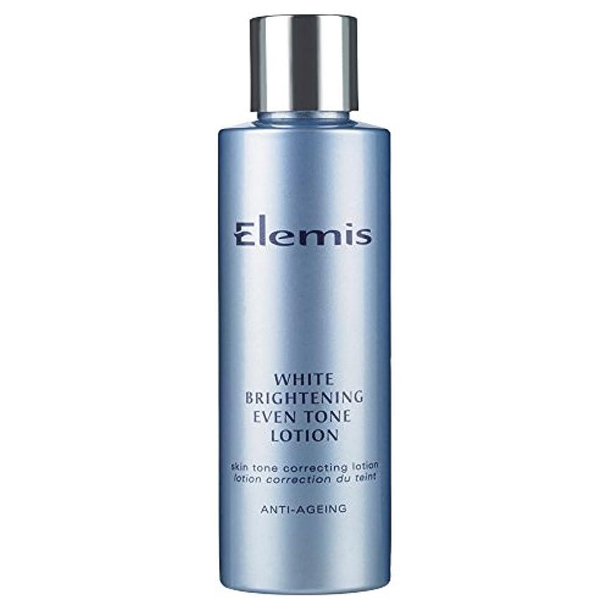 安息ドレイン降雨エレミス白い光沢さえトーンローション150ミリリットル (Elemis) - Elemis White Brightening Even Tone Lotion 150ml [並行輸入品]