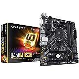 Gigabyte B450M DS3H AM4 mATX Desktop Motherboard