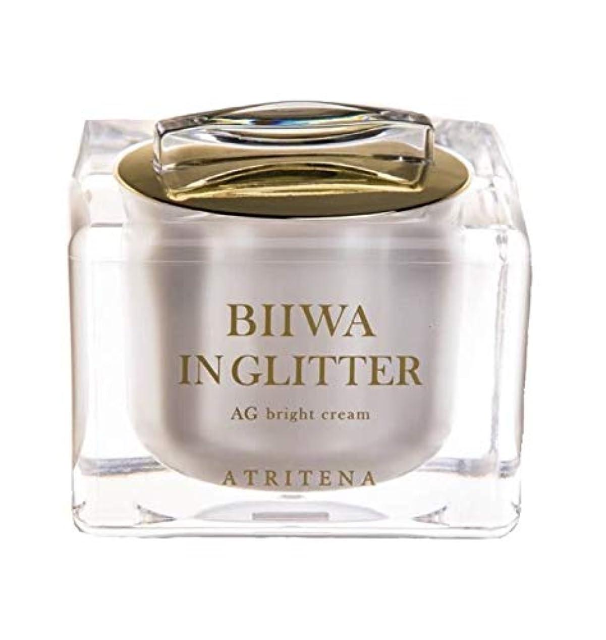 パターンフェンス湾<BWグリッタークリーム> ビワ イン グリッター AG ブライトクリーム BIIWA IN GLITTER 50g