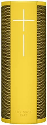 Ultimate Ears Mega Blast Portable Wi-Fi/Bluetooth Speaker, Yellow Lemonade