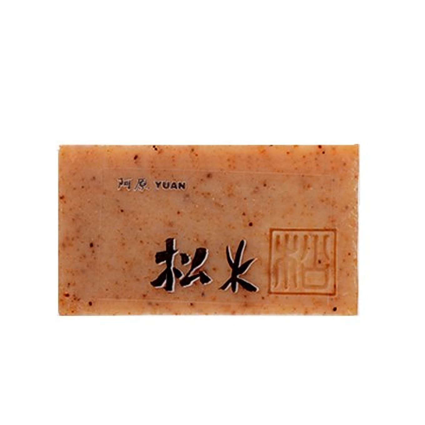 群集経験者汚いユアン(YUAN) ユアンソープ 松木(まつのき)ソープ 100g (阿原 石けん 台湾コスメ)