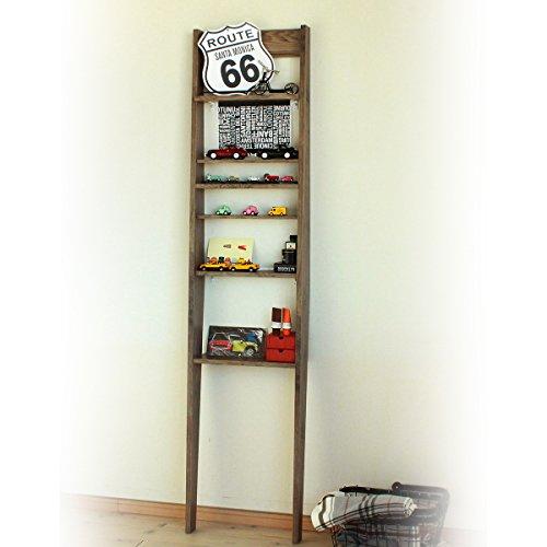 RoomClip商品情報 - 白井産業 オープンシェルフ・ラック ブラウン スリムタイプ トイコス 薄型壁面ディスプレイラック TXS-1945BR