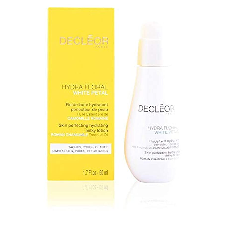懲らしめ思い出す寝具デクレオール Hydra Floral White Petal Roman Chamomile Skin Perfecting Hydrating Milky Lotion 50ml/1.7oz並行輸入品