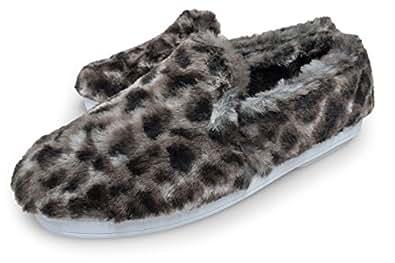 [ コユック ] koyuk 51- スリッポン ファー スニーカー レディース メンズ ユニセックス フェルト ( サイズ 24.5cm ) size 38 ( ハイエナ ) HIENA もこもこ 靴 ふわふわ 靴ふかふか FUR SLIP-ON MENS LADYS