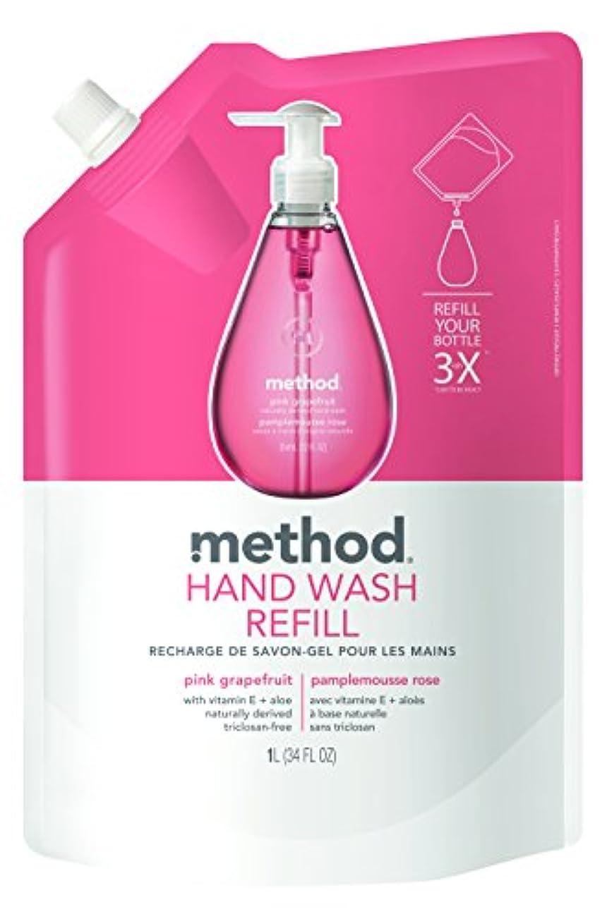 男らしさペイント免疫するメソッド(Method) ハンドソープ ジェル リフィル ピンクグレープフルーツ 1L