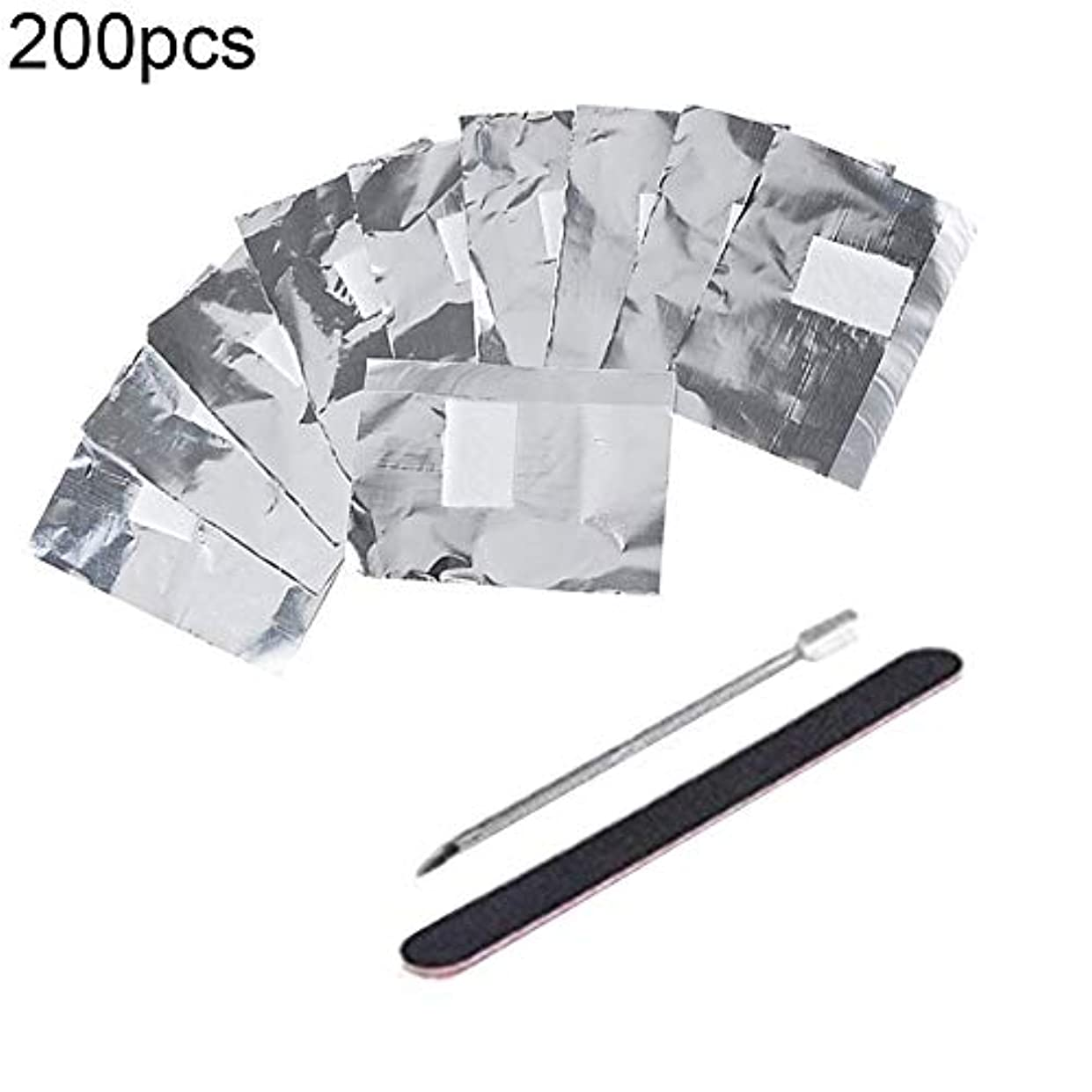 衝突する認証達成slQinjiansavネイルアート&ツール修復ツール50/100/200Pcsネイルポリッシュリムーバーホイルラップ浸漬ゲル除去コットンパッド - 100個