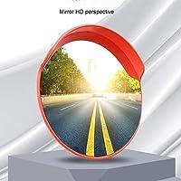 ZhanMaAZ セキュリティカーブミラー、180°視野角、多くの用途向けの道路交通補助安全ミラー45cm 60cm 80cm 100cm (Size : 45cm)