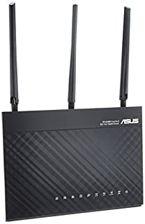 ASUS Wi-Fi無線ルーター RT-AC68U 11ac 1300+600Mbps 接続推奨18台 3階建・4LDK 永年無料セキュリティー機能搭載【 iPhone X/8/8Plus対応 】 (B00GJIEYBI) | Amazon price tracker / tracking, Amazon price history charts, Amazon price watches, Amazon price drop alerts