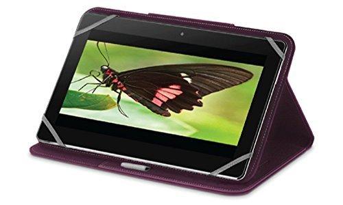 PureGear Universal Tablet Folio 7-8インチ タブレット用フォリオケース 手帳型 パープル 60998PG