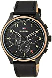 [トミーヒルフィガー] 腕時計 ASHER 1791854 メンズ ブラック [並行輸入品]