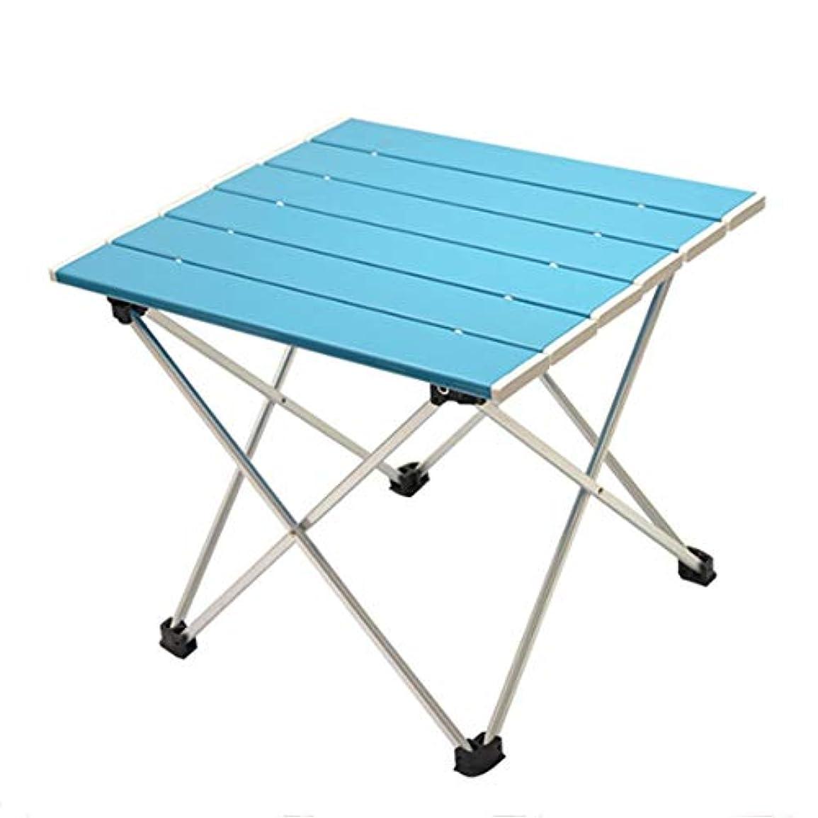 不明瞭雪だるまを作るショッキング携帯用折りたたみ式テーブル、小型の超軽量アルミ製卓上、汎用性が高く、便利な、屋内外での使用に最適、パーティー、ピクニック、レストラン、ビーチ、バーベキュー