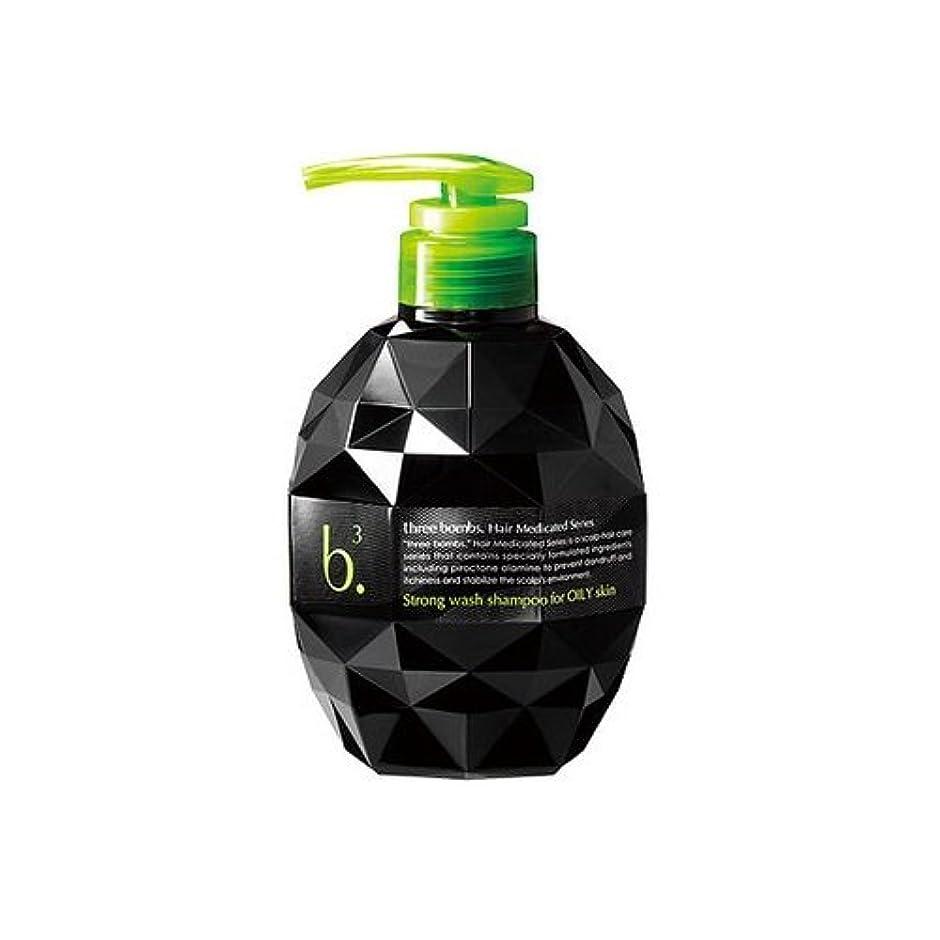 スピンエールワゴンスリーボム 薬用 ストロングウォッシュ シャンプー (450mL) [医薬部外品]