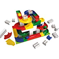 Lego レゴ デュプロ と互換性 思考力 を養う ブロック ビー玉転がし ベーシックセット (123ピース)