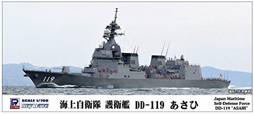 ピットロード 1/700 スカイウェーブシリーズ 海上自衛隊 護衛艦 DD-119 あさひ プラモデル J82