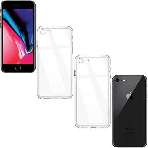 【iPhone8 の美しさそのまま iPhone8対応TPUケース】スマホケース iPhone 8 ケース 4.7インチ 対応 クリア 衝撃吸収 iPhone8 4.7 TPU 2個入-02 307