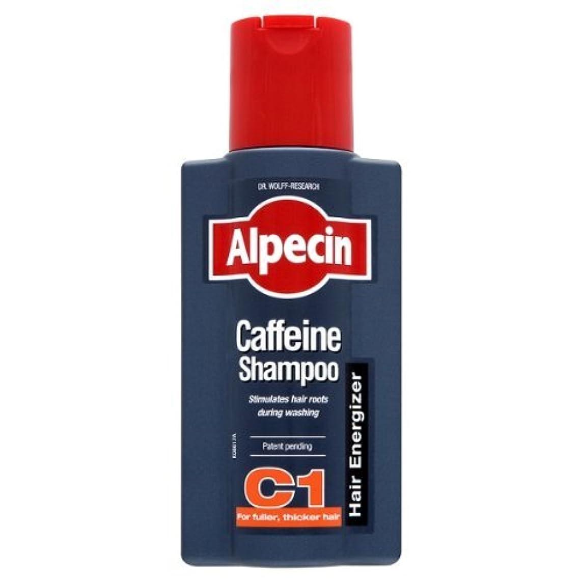 コロニー戦う刺繍Alpecin Caffeine Hair Energizer Shampoo 250ml - Pack of 3 by ALPECIN [並行輸入品]