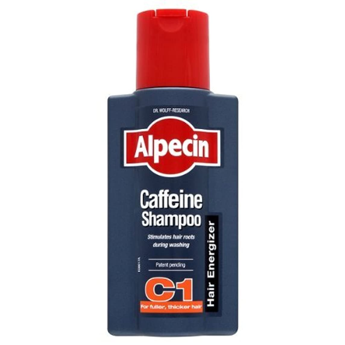 出席太字キャプチャーAlpecin Caffeine Hair Energizer Shampoo 250ml - Pack of 3 by ALPECIN [並行輸入品]