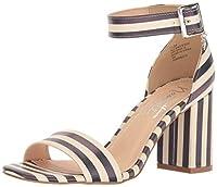 Nanette Nanette Lepore Women's Tilda Dress Sandal, Bl/Ows, Size 8.5 [並行輸入品]