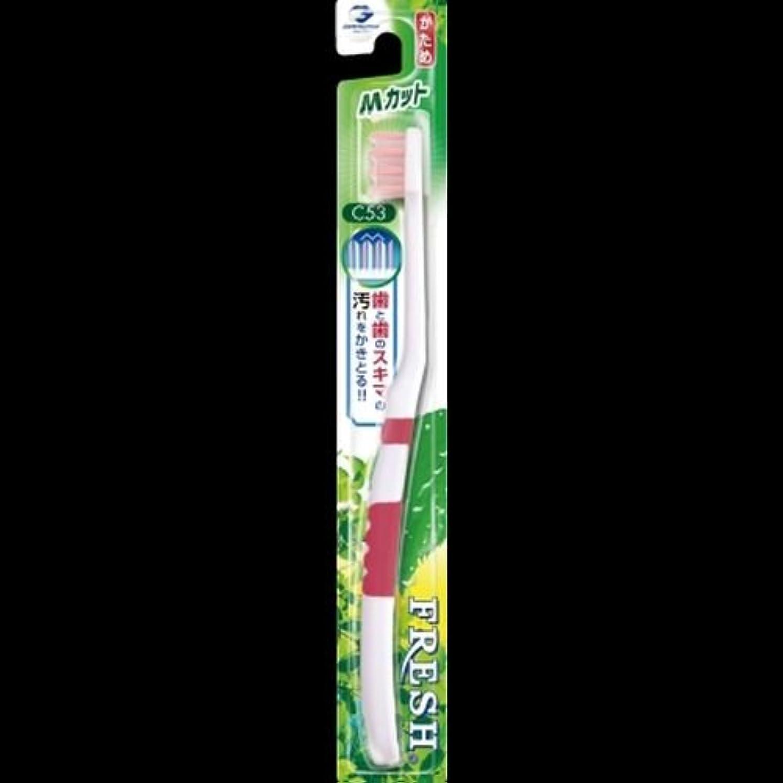 膜控えめな達成するフレッシュ ハブラシ3 Mカット かため アソート(ホワイト&ブルー?ホワイト&グリーン?ホワイト&ピンク?ホワイト&イエローのうち1色。色はおまかせ) ×2セット