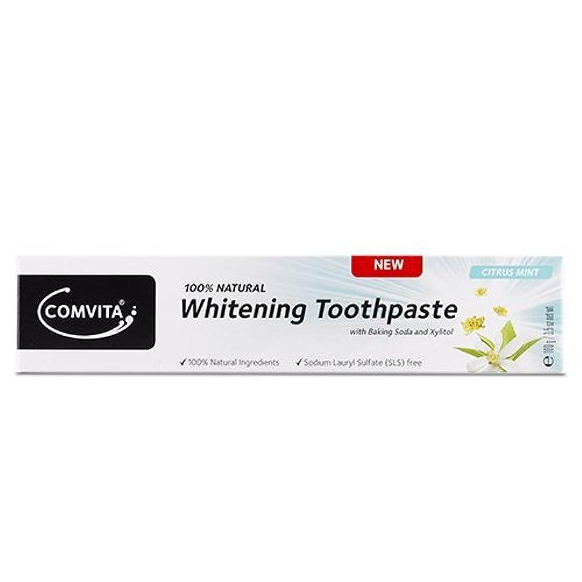 みすぼらしいゲージ敗北Comvita Whitening Toothpaste 100g / ???????????????100???