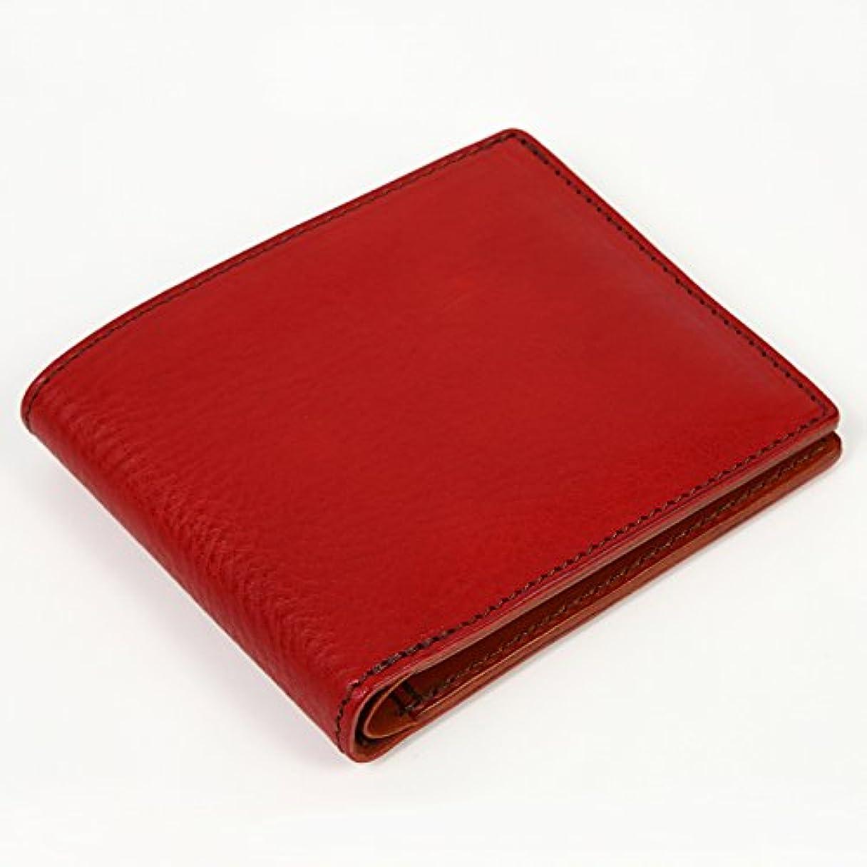 浅い息子最初chimera 二つ折り財布 (カード、札入れ) キメラ レッド