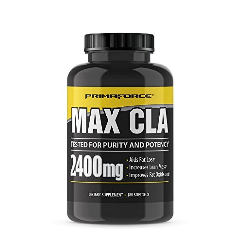 日焼け摂氏忌避剤Primaforce, Max CLA, 180 Softgels