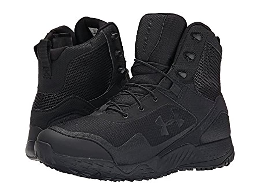 歯痛上へ帳面(アンダーアーマー) UNDER ARMOUR メンズブーツ?靴 UA Valsetz RTS Side Zip Black/Black/Black 9 (27cm) D - Medium