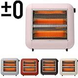 ±0 プラスマイナスゼロ ±0 Infrared Electric Heater XHS-U010 プラスマイナスゼロ 遠赤外線電気ストーブ [ピンクベージュ]