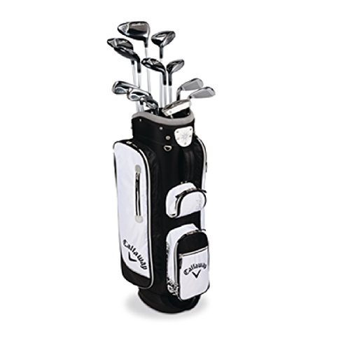 [해외] CALLAWAY SOLAIRE 13 PIECE RH BLACK WOMENS COMPLETE SET [병행수입품]-