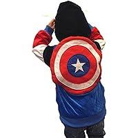 スーパーヒーローハロウィンコスチューム子供用キャプテンアメリカコスチュームパーカースウェットシャツ