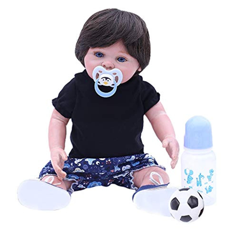 D DOLITY 18インチベビードール 新生児男の子人形 手作り 幼児人形 抱き人形