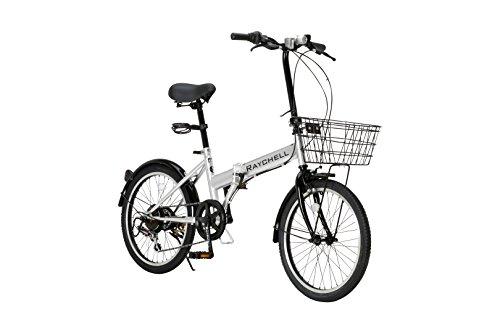 RayChell(レイチェル) 20インチ 折りたたみ自転車...