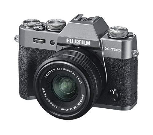 FUJIFILM ミラーレス一眼カメラ X-T30XCレンズキット チャコールシルバー 富士フイルム X-T30LK-1545-CS