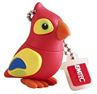 The Jungle Range M328 Parrot - USB-Flash-Laufwerk - 8 GB [並行輸入品]