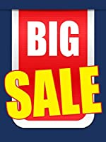 Big Sale Business Retail Display Sign 18x24 Full Color 5 Pack [並行輸入品]